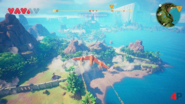 Die per Pedes, Boot und Flugzeug erkundbare Spielwelt ist hübsch, Story und Charaktere bleiben aber eher blass.