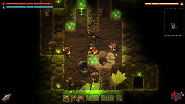 Screenshot - SteamWorld Dig (PlayStation4)