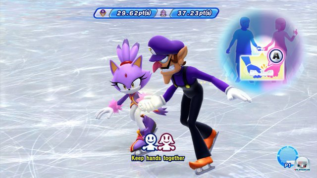 Screenshot - Mario & Sonic bei den Olympischen Winterspielen: Sotschi 2014 (Wii_U) 92470248
