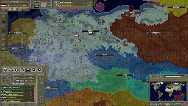Die Ausgangslage 1936: Deutschland in den Grenzen des Versailler Vertrages.