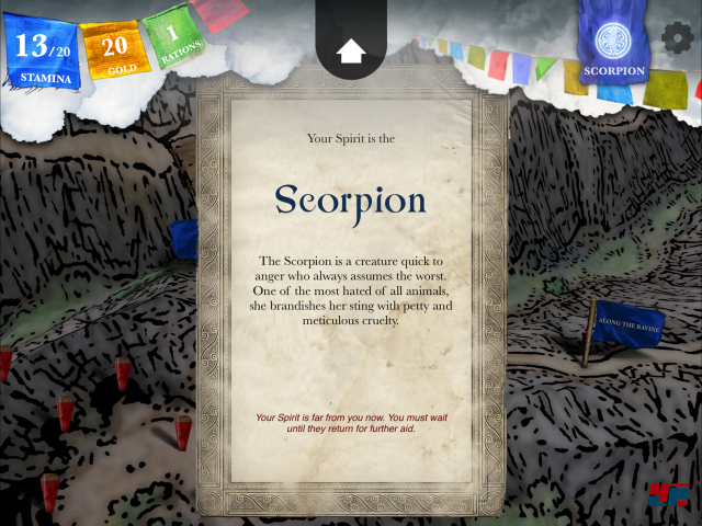 Screenshot - Sorcery! 4- The Crown of Kings (iPad) 92535352