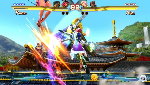 Screenshot - Street Fighter X Tekken (PS_Vita) 2376107