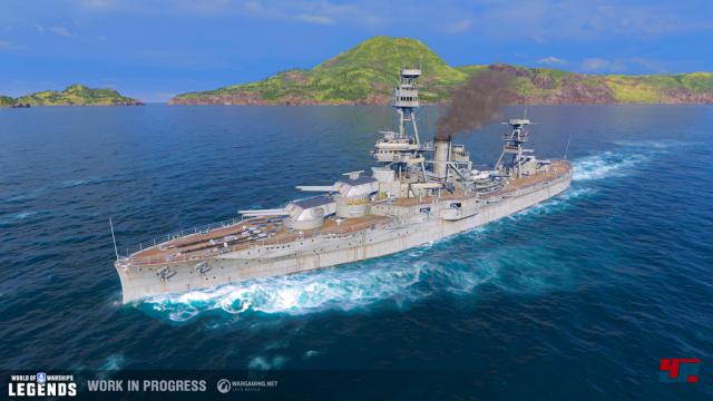 Screenshot - World of Warships (PS4)