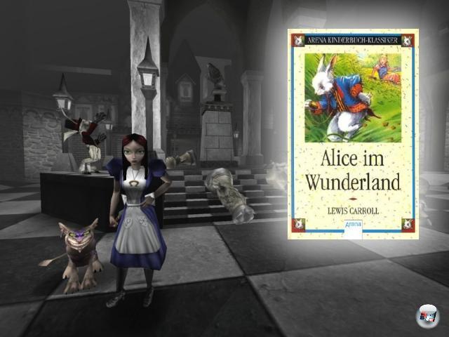 <br><br><b>Alice im Wunderland</b> (Lewis Carroll, 1865)<br><br>Das Buch von Lewis Carroll ist schon sehr, <i>sehr</i> surreal - was Kreativkopf American McGee dann aber noch daraus gemacht hat, war schon fast ein spielbarer Drogentrip! Das Ganze spielte sich im Kopf der verrückt werdenden Alice ab, was dann, von der Quake 3-Engine befeuert, für höchst innovatives und abgefahrenes Level- und Figurendesign sorgte. Zwar war das von der Kritik hochgelobte Spiel kommerziell wie so oft in solchen Fällen ein Flop, aber dennoch arbeitet McGee gerade an einem zweiten Teil. 2056798