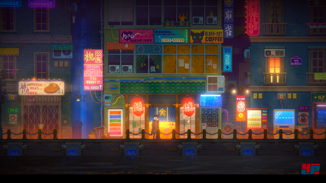 Screenshot - Tales of the Neon Sea (PC)