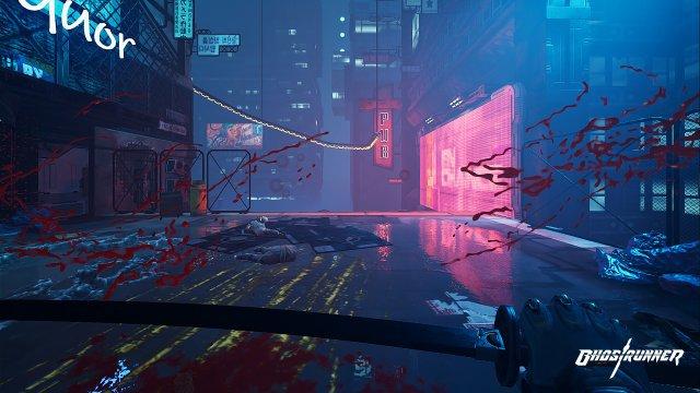 Screenshot - Ghostrunner (Switch)