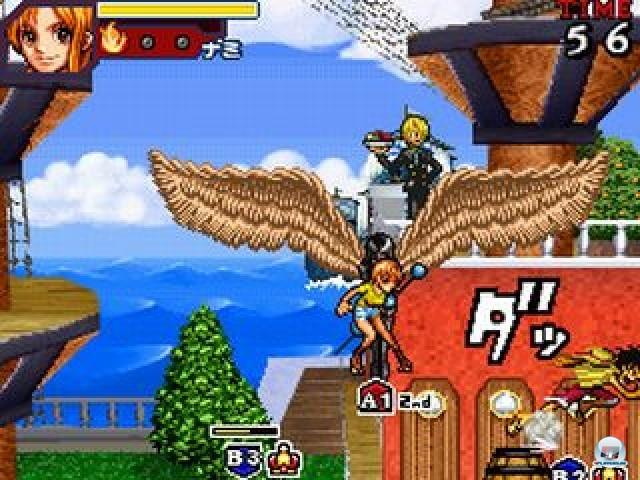 Screenshot - One Piece: Gigant Battle (NDS)