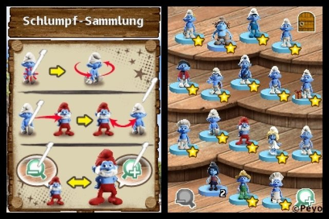Screenshot - Die Schlümpfe 2 (NDS) 92458857