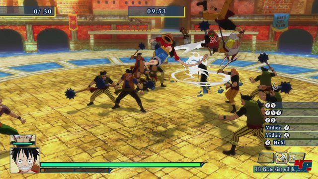Screenshot - One Piece: Unlimited World Red (PlayStation3) 92484342