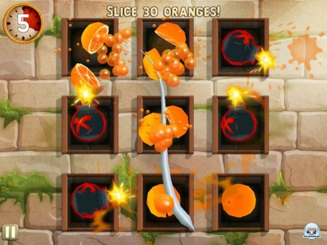 Screenshot - Fruit Ninja: Puss in Boots (iPad) 2298202