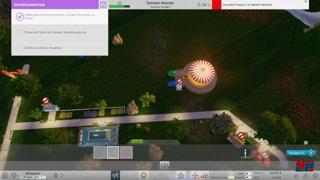Screenshot - RollerCoaster Tycoon World (PC) 92537613