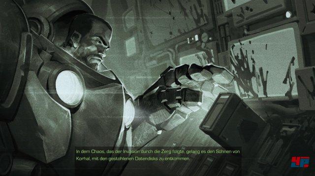 Neu sind einige Zwischensequenzen im Comic-Stil, welche die Story etwas vertiefen.