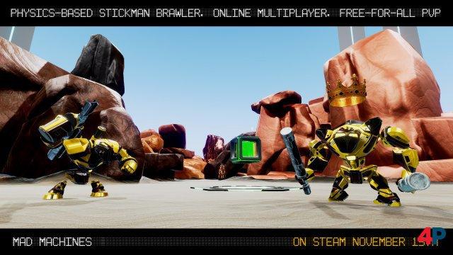 Screenshot - Mad Machines (PC)