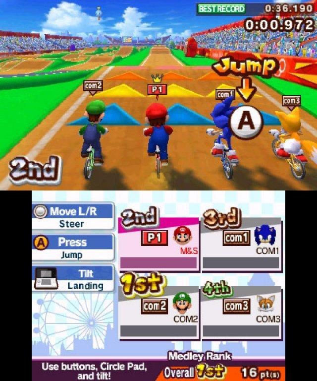 Screenshot - Mario & Sonic bei den Olympischen Spielen: London 2012 (3DS) 2304917