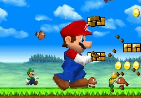 New Super Mario Bros (2006)<br><br>Schon der Titel verrät es: New Super Mario Bros. geht zurück zu den Wurzeln der erfolgreichen Serie: 2D-Sidescroller, funky Endgegner, Sprungfahnen am Levelende - und das alles kombiniert mit wundervoll frischen Ideen wie der 2/3D-Grafikmischung, neuen Power-Ups (die Mario u.a. riesengroß oder winzig klein machen), unterhaltsamen Minigames. Ein großer Spaß für alte und neue Fans, der uns auch glatt 92% wert war! 1724687