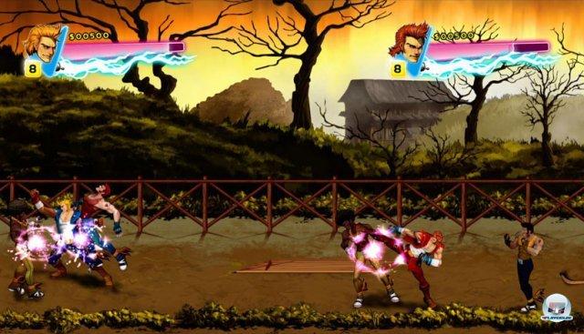 Screenshot - Double Dragon Neon (360) 92402787