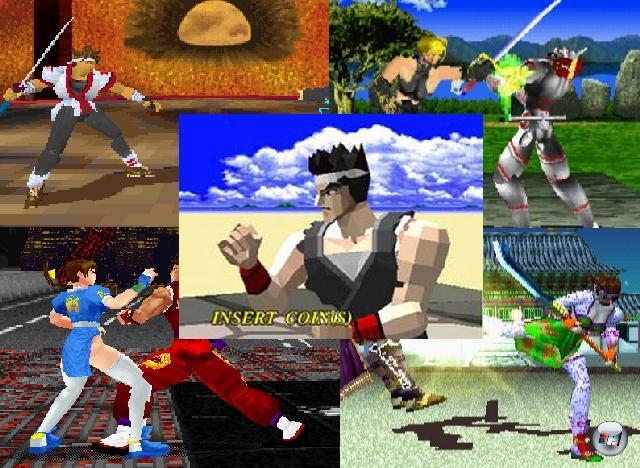 Das lässt sich auch über das Jahr 1994 sagen, denn mit dem Erscheinen von Segas Virtua Fighter brach endlich das Zeitalter der 3D-Grafik für das Prügelgenre an. Zwar gab es auch schon vorher grobe Polygone, die sich gegenseitig in unharmonischer Absicht überlagerten (wie in 4D Sports Boxing), aber erst Virtua Fighter definierte das Genre des 3D-Prüglers. Klar, dass die Konkurrenz nicht lange auf sich warten ließ: Tekken verhalf der PlayStation zu immerwährendem Ruf, Dead Or Alive verfügte über hopsende Polygonbrüste, gerüchteweise hatten auch Leute mit Battle Arena Toshinden Spaß, Namco machte sich mit Soul Blade im eigenen Hause Konkurrenz uswusf. 1911923