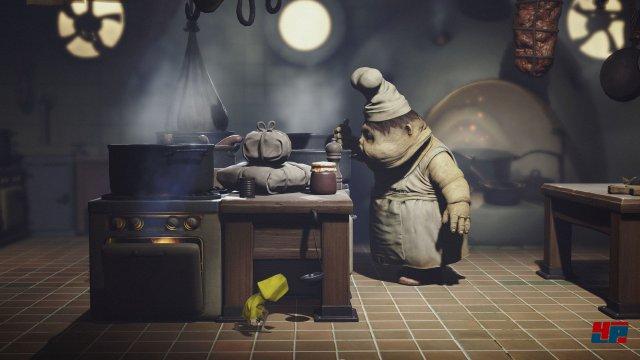 Na, bei diesem Koch und seiner Schmuddel-Küche bekommt man doch gleich Appetit.