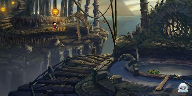 Objekte aus der Spielwelt können direkt via Drag&Drop miteinander kombiniert werden.