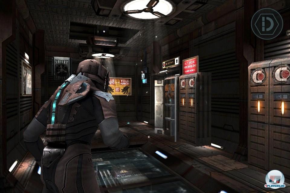 Technisch spielt Dead Space ganz vorne mit: Auf allen Plattformen gibt's glaubwürdiges Leveldesign und tolle Animationen zu sehen, auf dem iPad 2 warten die besten Texturen und Anti-Aliasing.