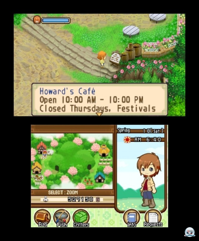 Screenshot - Harvest Moon: The Tale of Two Towns (3DS) 2232227