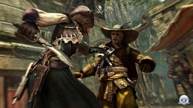 Der Rest des Spiels ist ein Assassin's Creed. Spielerisch hängt die Serie fest.