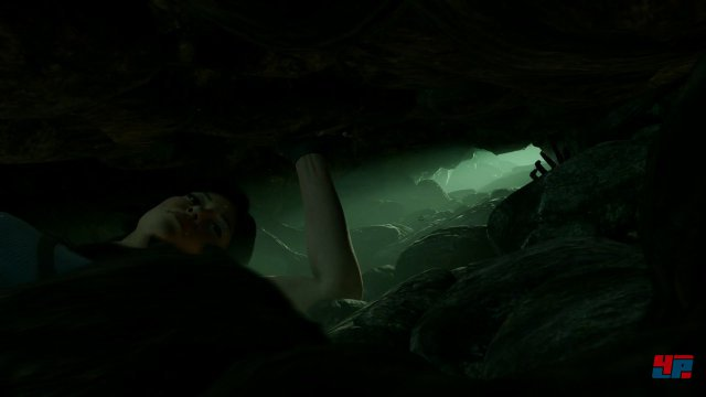 Manchmal wird es ganz schön eng für Lara.