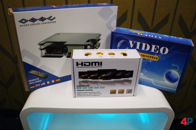 Wir haben drei Video-Konverter unterschiedlicher Preisklassen ausprobiert, um Retro-Konsolen an moderne Fernseher anzuschließen.