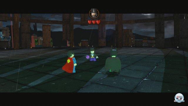 Im Vergleich zum letzten Lego-Spiel auf Wii U fällt der Humor trotz Superhelden-Besetzung eher dürftig aus.