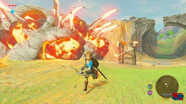 The Legend of Zelda: Breath of the Wild erscheint zum Start am 3. März.