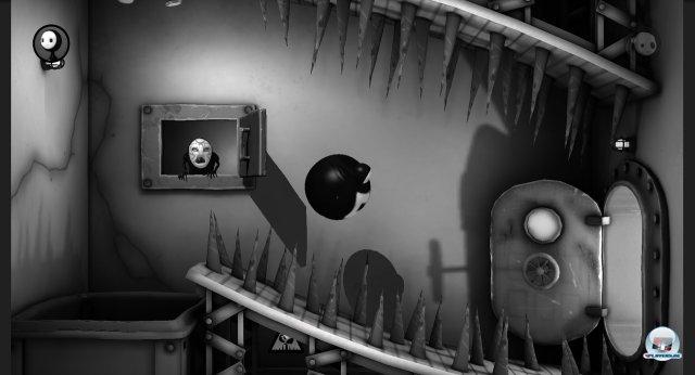 Der arme Lil: Das Einatmen von Gas macht ihn zum Heißluftballon, der Bewegungssensor bestimmt seine Flugbahn.