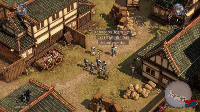 Screenshot - Shadow Tactics: Blades of the Shogun (PS4) 92550239