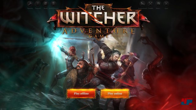 Screenshot - The Witcher Adventure Game (PC)