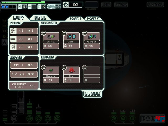 Screenshot - FTL: Faster Than Light (iPad) 92479809