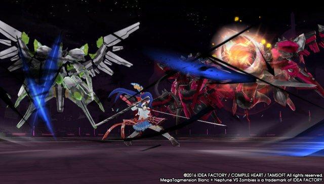 Screenshot - MegaTagmension Blanc   Neptune VS Zombies (PS_Vita)