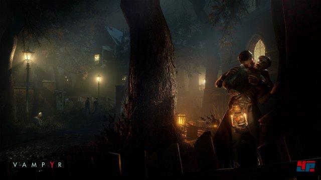 Töten oder Verschonen? Welche Charaktere man aussaugt, bleibt dem Spieler überlassen. Konsequenzen soll es reichlich geben ...