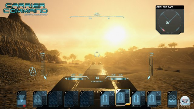 Screenshot - Carrier Command: Gaea Mission (360)
