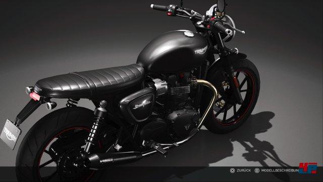 Die Motorräder sehen klasse aus und wurden mit viel Liebe zum Detail gestaltet.
