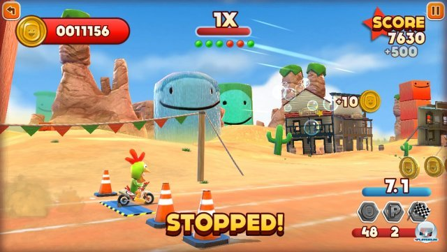 Screenshot - Joe Danger Touch (iPhone) 92439367