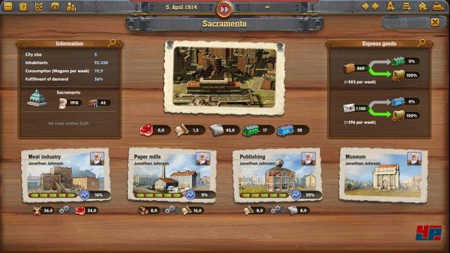 Screenshot - Railway Empire (Linux) 92555405