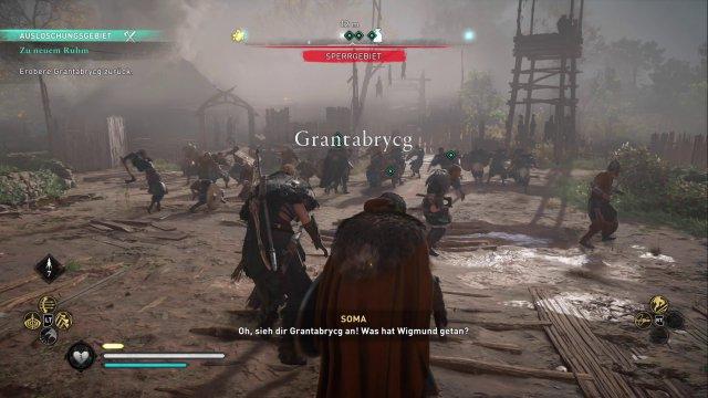 Schlachtengetümmel: An einigen Punkten in der Story gibt es Action mit dem versammelten Wikinger-Clan.