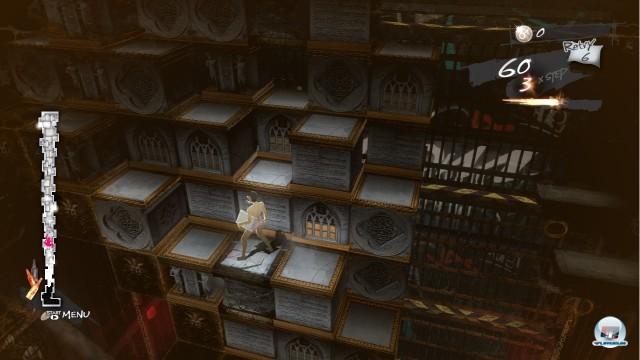 Die Puzzle-Mechanik liegt irgendwo zwischen Sokoban und Tetris.
