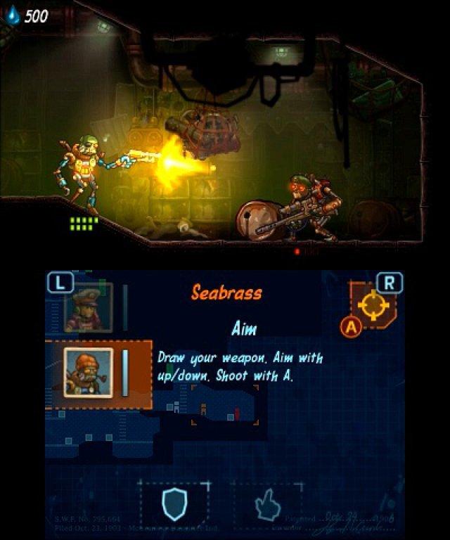Screenshot - SteamWorld Heist (3DS) 92508195