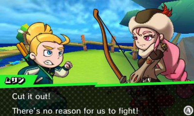 Screenshot - Sushi Striker: The Way of Sushido (3DS)