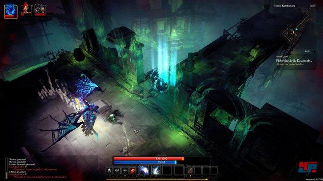 Für ein Hack&Slay sind die Gefechte in Shadows: Heretic Kingdoms dank des Seelenmanagements erstaunlich taktisch.