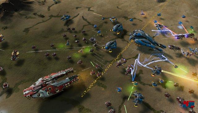 Nur die großen Einheiten (Dreadnoughts) sammeln Erfahrung und werden dadurch stetig effektiver.