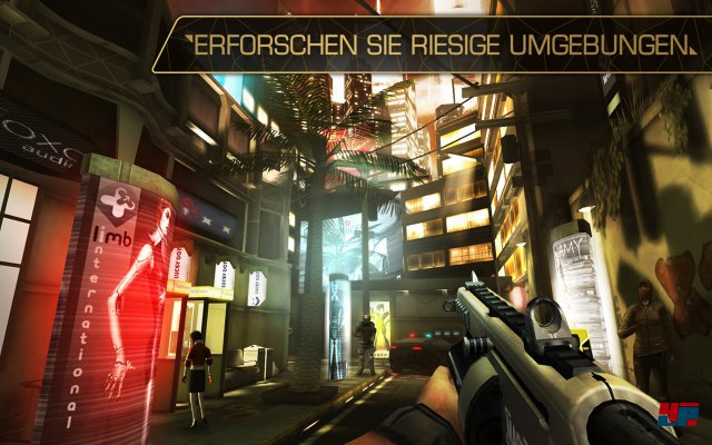 Screenshot - Deus Ex: The Fall (Android)