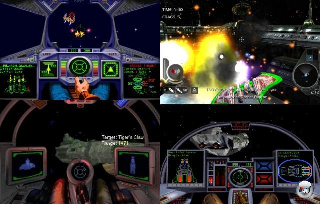 <b>Die Ableger</b><br><br>Nach Prophecy war mit der Wing Commander-Serie an sich Schluss. Zwar gab es im Jahr 2007 den XBLA-Shooter »Wing Commander Arena«, aber der hatte mit der Serie außer dem Logo eigentlich gar nichts zu tun und gilt als unterirdisch spielbarer Schandfleck auf der Serienweste. Generell taten sich die Entwickler schwer mit den großen Namen, wenn es nicht gerade um Hauptspiele ging: »Wing Commander: Academy« (1993) war ein reiner Dogfight-Ableger (der später in einer Zeichentrickserie verwurstet wurde), »Wing Commander: Armada« (1994) war eine merkwürdige Mischung aus Strategie und Weltraumballerei, die aber zwei Besonderheiten aufwies: Zum einen war sie komplett im Netzwerk spielbar, sowohl kooperativ als auch gegeneinander. Zum anderen nahm das Spiel die 3D-Polygongrafik aus Wing Commander 3 vorweg, wenngleich ohne SVGA-Unterstützung. Der beste Ableger ist und bleibt »Super Wing Commander«, das 1994 für die Unglückskonsole 3DO veröffentlicht wurde: Eine Umsetzung des ersten Teils, mit frischen Zusatzmissionen, durchgehender Sprachausgabe und der bis dato schönsten Wing Commander-Grafik. 2160148