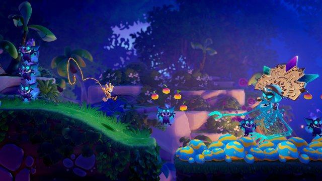 Captura de pantalla: Marsupilami: Hoobadventure (PC, PS4, Switch, One)