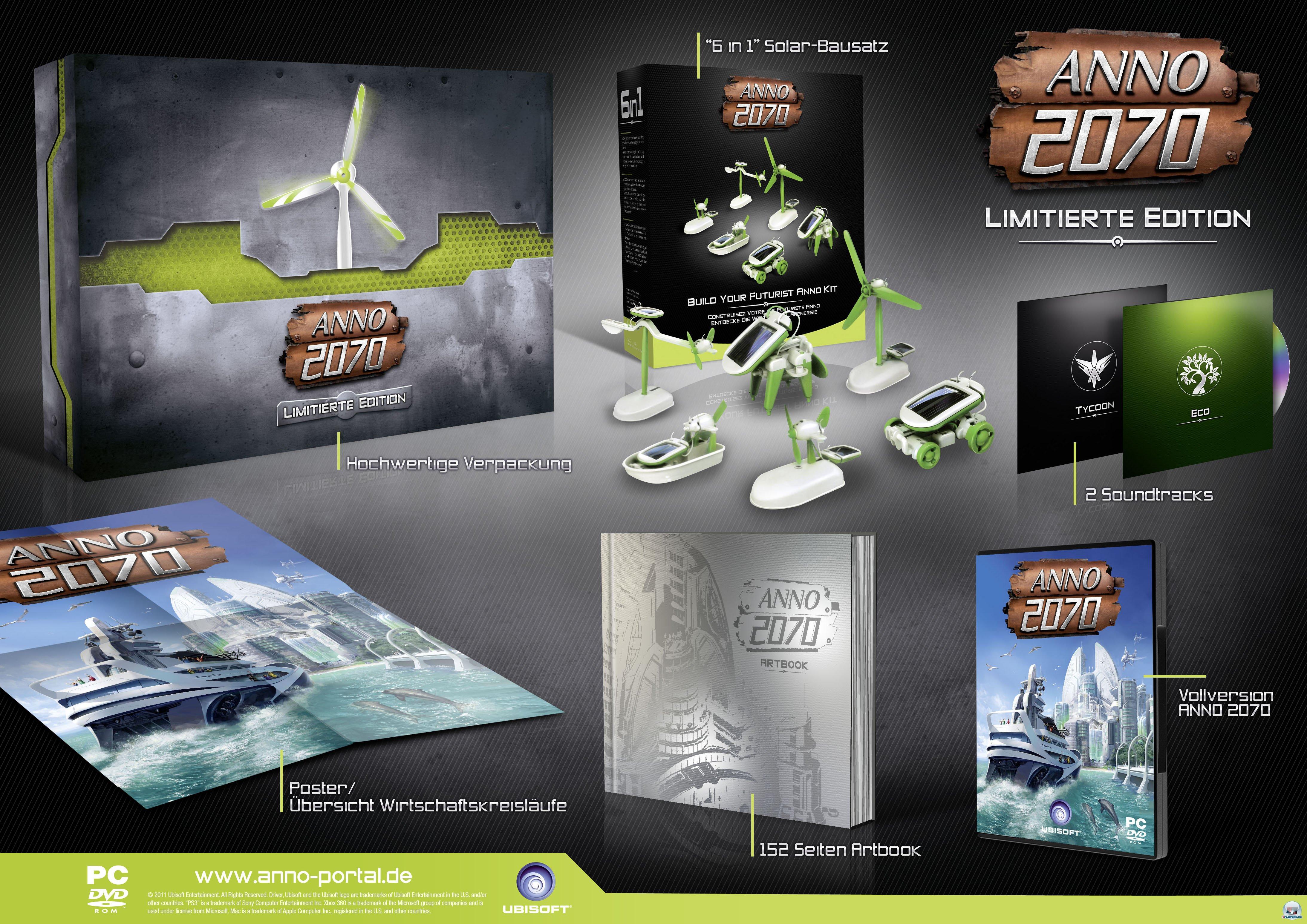 ANNO 2070 - Limitierte Edition